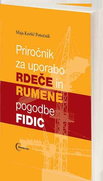Priročnik za uporabo rdeče in rumene pogodbe FIDIC